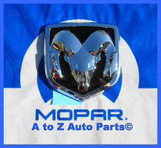 NEW 2005-2008 Dodge Ram, 2005-2011 Dakota Chrome TAILGATE Emblem, OEM Mopar - $69.95