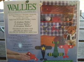 Wallies Wallpaper Cutouts Airplane Wallies  - $12.00