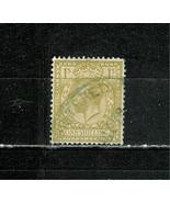 GREAT  BRITAIN  #  200  *KING GEORGE V * 1 SHILLING / PER 15 X 14 / WM 35 - $1.28