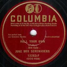 "Columbia 78 #12263F - ""Roll Your Own"" & ""Smiles Polka - Juke Box Serenaders - $9.89"