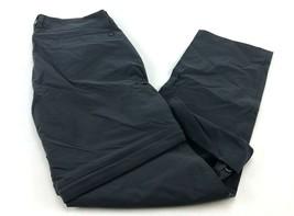 Marmot Women's Convertible Strait Pants Size M Dark Steel/Gray - $36.25