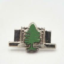 Vintage Tall Cedars of Lebanon Mason Sterling Silver .925 Tie Tack - $34.64