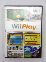 Nintendo Wii Play Video Game with Case No Instruction Manual 2007 - $9.95