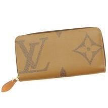 Authentic Louis Vuitton Giant Monogram Zippy Wallet Long Wallet M67687 B... - $1,239.97