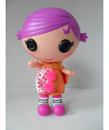 """LALALOOPSY LIL BIG TOP CLOWN OUT FIT Small Size DOLL Pink Hair 7"""" Hat - $6.81"""