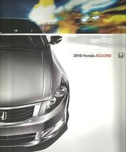 2010 Honda ACCORD sales brochure catalog US 10 LX EX EX-L V6 - $6.00