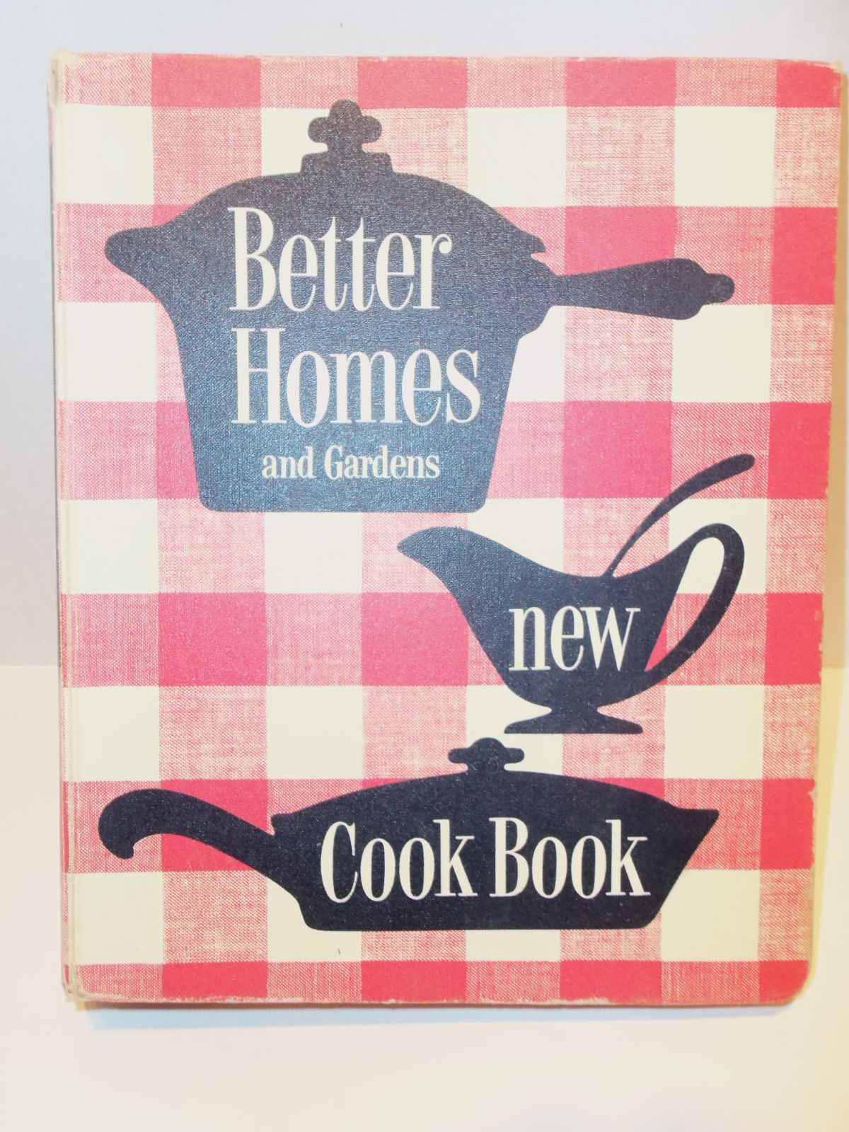 Vintage 1953 Unknown Edt Better Homes And Gardens New Cookbook 5 Ringer Binder Cookbooks