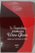 GANZ EX30173 The Stupendous Stemless Wine Glass Gnome 32 Oz image 2