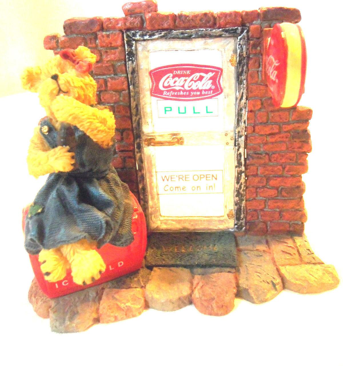 "Boyds Bearstone ""DINAH"""" Coca Cola®  Licensed - #2277950CB- CB Exclusive"
