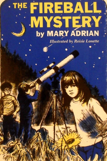 The Fireball Mystery by Mary Adrian 1977 Children Book