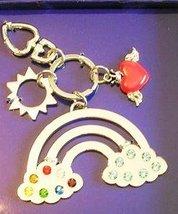 Argentosc Large Rainbow Key Ring with Swarovski - $28.71