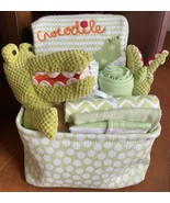 Snappy Crocodile Baby Gift Basket - $75.00