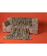 Lynx Bobcat Fur Blanket Throw - $277.20+