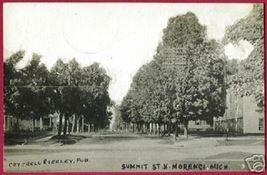 Morenci Michigan Summet St Seeley1909 Rppc Mi - $19.99