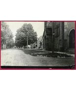 Portland Michigan E Bridge St Church 1909 RPPC MI - $19.99