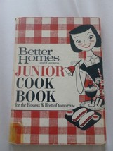 Better Homes & Gardens Junior Cookbook 1963 Second Printing Meredith Publishing - $4.90