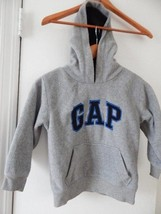 Gre  Boy's Kids GAP Kids Fleece Kangaroo Pocket Hoodie Jacket Size 4- 5 ... - $2.97