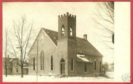 Fayette Ohio Postcard Church of Christ RPPC Kruxo BJs - $19.99