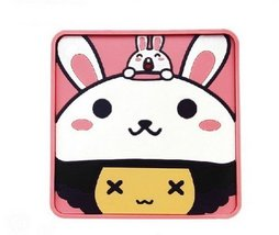 PANDA SUPERSTORE MocMoc Universal Desk, Table, Car Dashboard Non-Slip Mat Rabbit