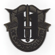 US Army 11th Special Forces Group Crest OD Green Patch - $9.36