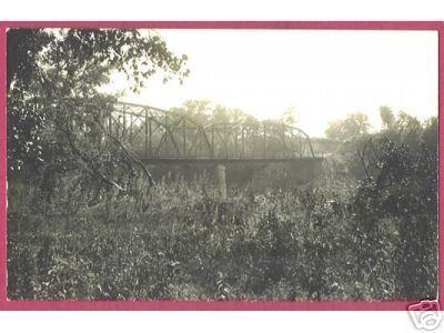 SPRING LAKE MINNESOTA Bridge RPPC Real Photo AZO