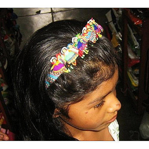 Puppet Doll Hair Grip Alice Band Typical from Peru Bonanza