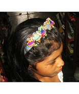 Puppet Doll Hair Grip Alice Band Typical from Peru - $9.00