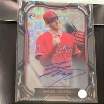 MLB card Shohei Otani 2018 topps high tek autograph - $579.15