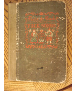 1947 Fireside Book of Folk Songs 5th ed Simon & Schuster Piano Music Ill... - $24.70