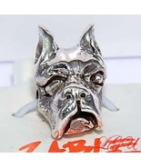 AUTHENTIC ZABLE STERLING SILVER BOXER DOG EUROPEAN BEAD - $25.20