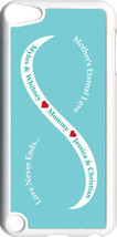 Baby Blue & White Mother's Love Four Teal Names on iPod Touch 5th Gen 5G... - $11.95