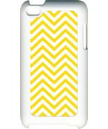 Different Color Plain Chevron Design on iPod Touch 4th Gen 4G TPU Hard Case - $13.95