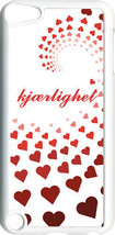 Graduating Red Hearts Love in Finland iPod Touch 5th Gen 5G White TPU Ca... - $9.46
