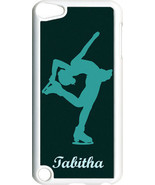 Monogrammed Sport Ice Skating iPod Touch 5th Gen 5G on White TPU Hard Ca... - $11.26