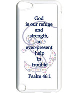 Multicolor Polka Dot Anchor Psalm 46:1 on iPod Touch 5th Gen 5G White TP... - $9.46
