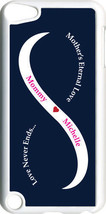 Navy Blue & White Mother's Love with One Pink Name iPod Touch 5th Gen 5G... - $11.95