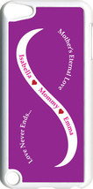 Purple & White Mother's Love with Pink Names on iPod Touch 5th Gen 5G Case - $61.95