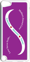 Purple & White Mother's Love with Teal Names iPod Touch 5th Gen 5G Case - $11.95