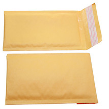 QTY 10 SMALL SIZE  #000 5X8 KRAFT BUBBLE PADDED... - $6.76