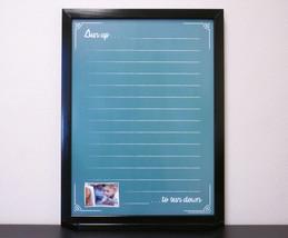 Tailor Made Whiteboards Framed Chalkboard Dry Erase Board Custom Whitebo... - €76,26 EUR