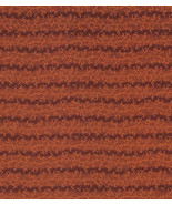 40 Inches Rare Autumn Quilt Fabric, Highest Quality, Orange Twigs, Rusty... - $7.73