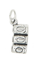 STERLING SILVER SIX PACK OF COLA POP SODA CAN CHARM/PENDANT - $10.82