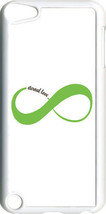 White & Light Green Love Infinity Symbol iPod Touch 5th Gen 5G TPU Case ... - $9.95