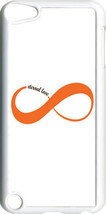 White and Orange Love Infinity Symbol iPod Touch 5th Gen 5G TPU Case Cover - $9.95