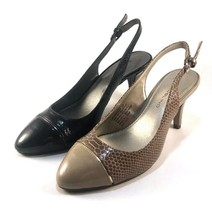 Bandolino Nekesh Round Toe Slingback Pumps Choose Sz/Color - $19.50