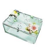 Welforth Bejeweled Owl Duo Glass Jewelry Box - $26.24