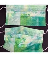 10 pieces green sky disposable face mask - $11.00