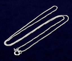 """STERLING SILVER BASKETBALL CHARM WITH 16"""" BOX CHAIN image 2"""