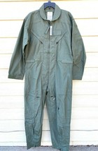 NEW US AIR FORCE USAF NOMEX FIRE RESISTANT FLIGHT SUIT GREEN CWU-27/P - ... - $133.65