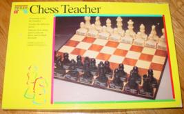 CHESS TEACHER GAME LEARNING SET FOR THE BEGINNER 1992 PAVILION COMPLETE - $10.00